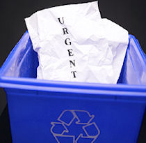 Recycling paper is just one of the many applications...